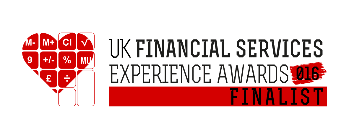 UK Financial Services Experience Awards 2016 Finalist