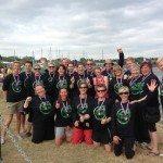 Julie Gelder Tackles a Spot of Dragon Boat Racing