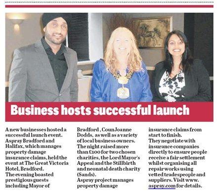 Aspray Bradford Launch event