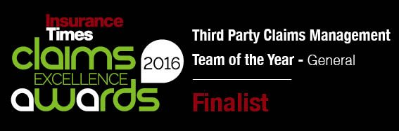 Claims Excellence Awards 2016 Finalist