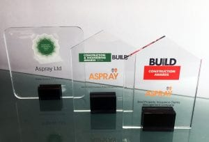Insurance Times Claims Excellence Awards and other Aspray achievements