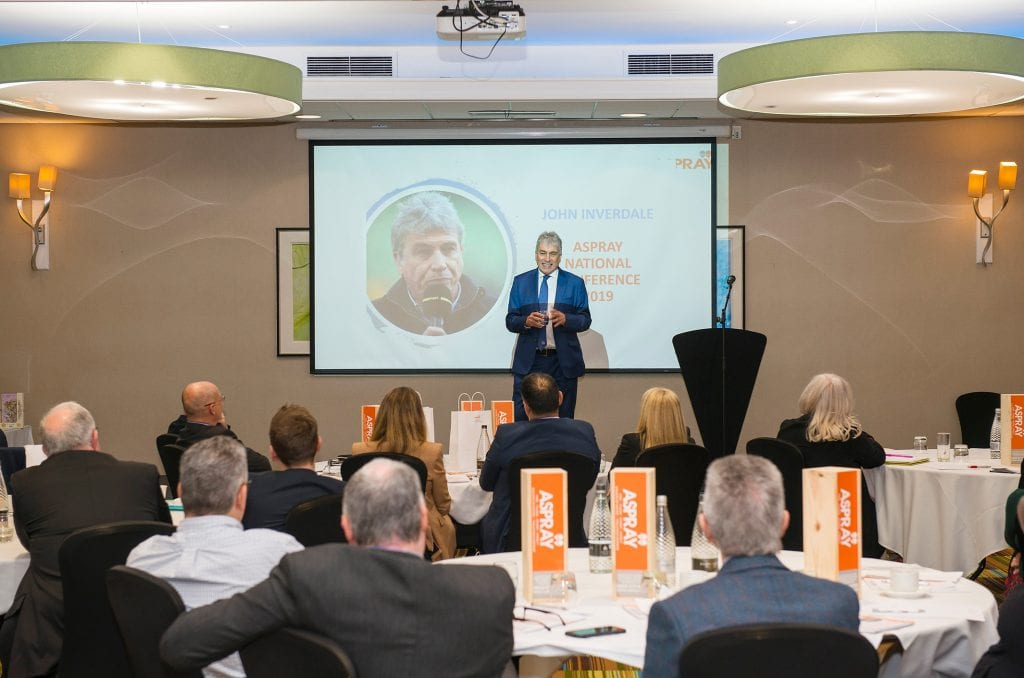 John Inverdale, Celebrity Guest Speaker Aspray Conference
