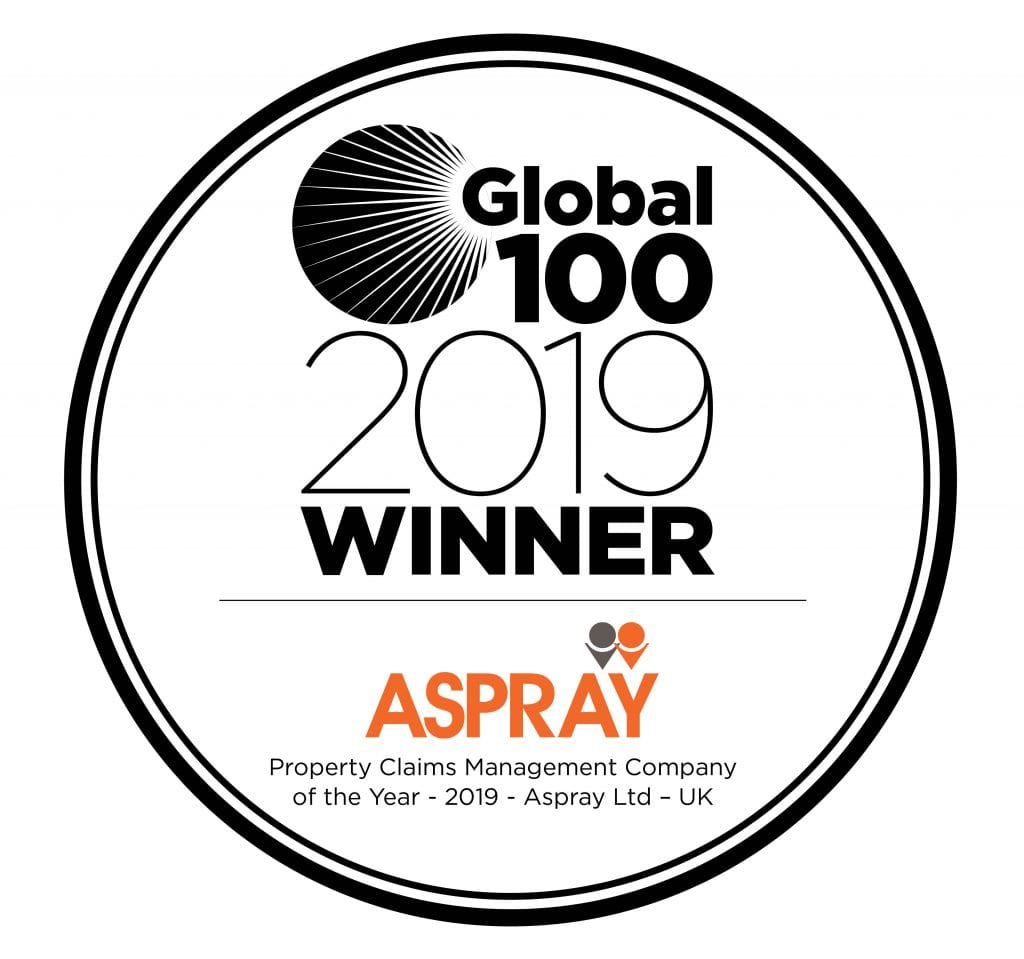 Global 100 Award - Aspray Limited
