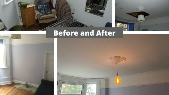 Property Damage Claim - Before and After Pictures