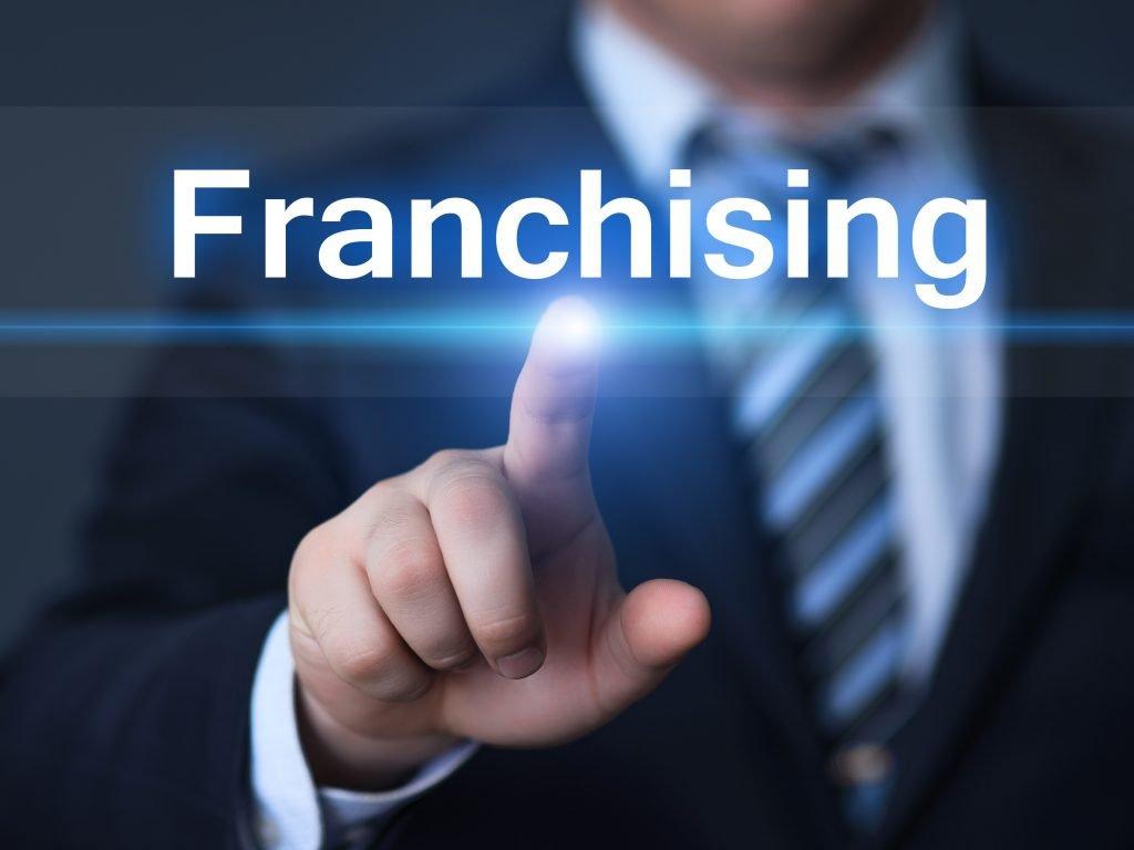 a franchise sign