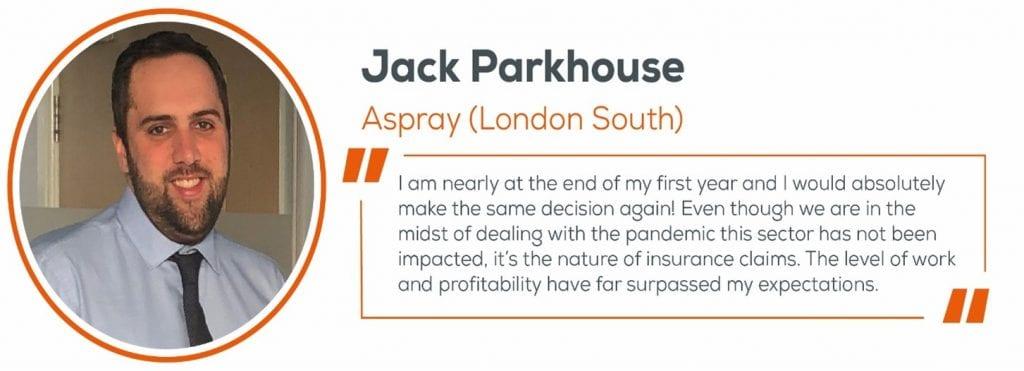Jack Parkhouse, Quote