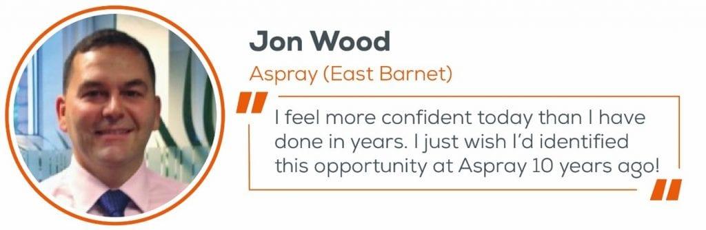 Jon Wood, decision quote