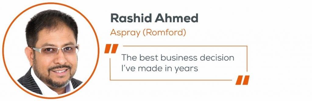 Rashid Ahmed, Decision quote