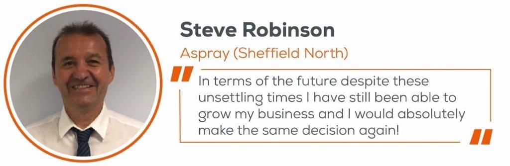 Steve Robinson, decision quote