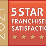 Franchisee Satisfaction Awarded 5-Stars at Aspray