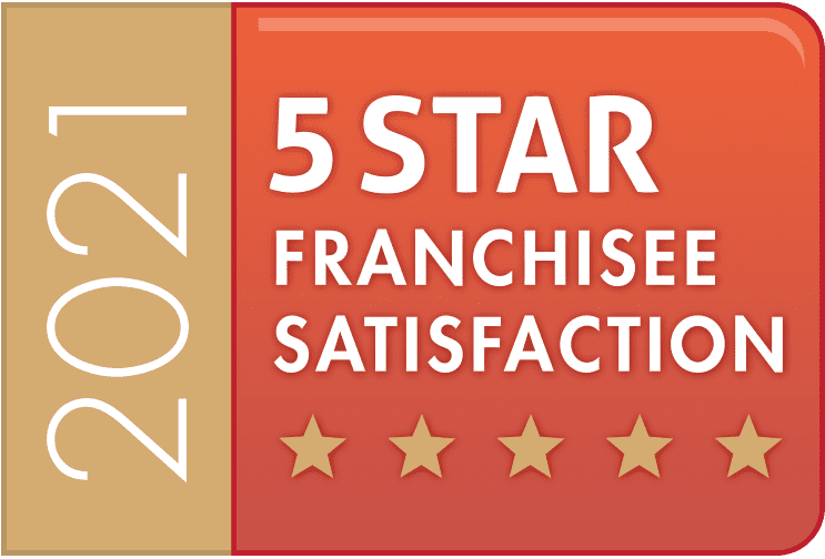 5-Star Franchisee Satisfaction Award Logo