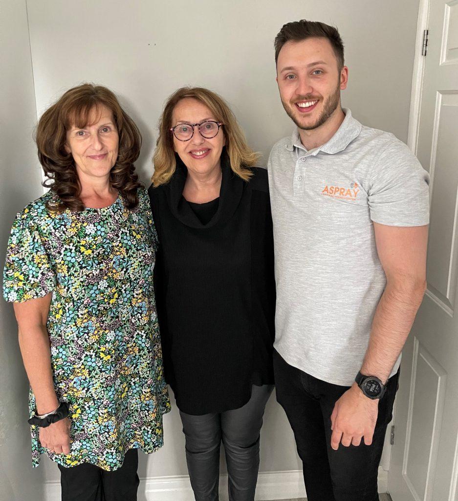Aspray Manchester Central Team - Family Business